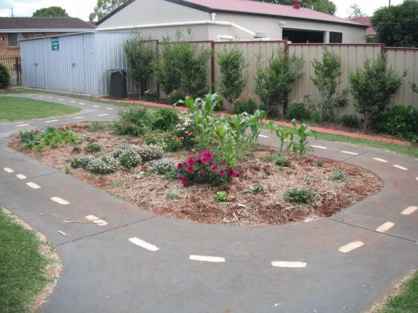 Bike Track and Vegetable Garden