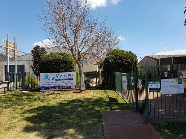 Little Miracles Community Kindergarten Toowoomba Front Signage