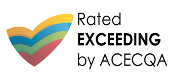 Rated Exceeding by ACECQA Logo